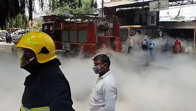 Oxygen Tank Leaked At Hospital In Nashik Maharastra