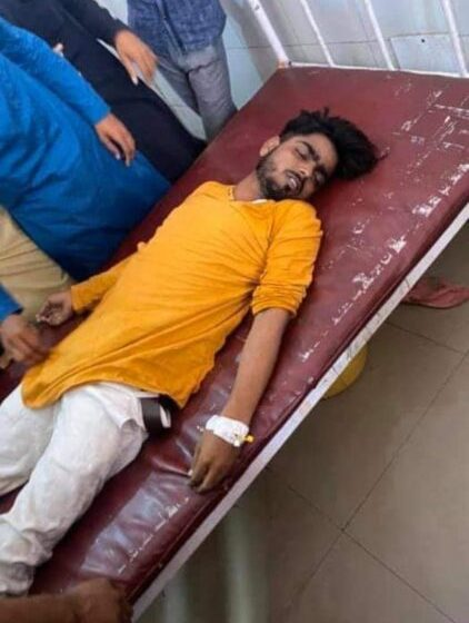 DIED BY UNNAO POLICE BEATING, RUCKUS: UP